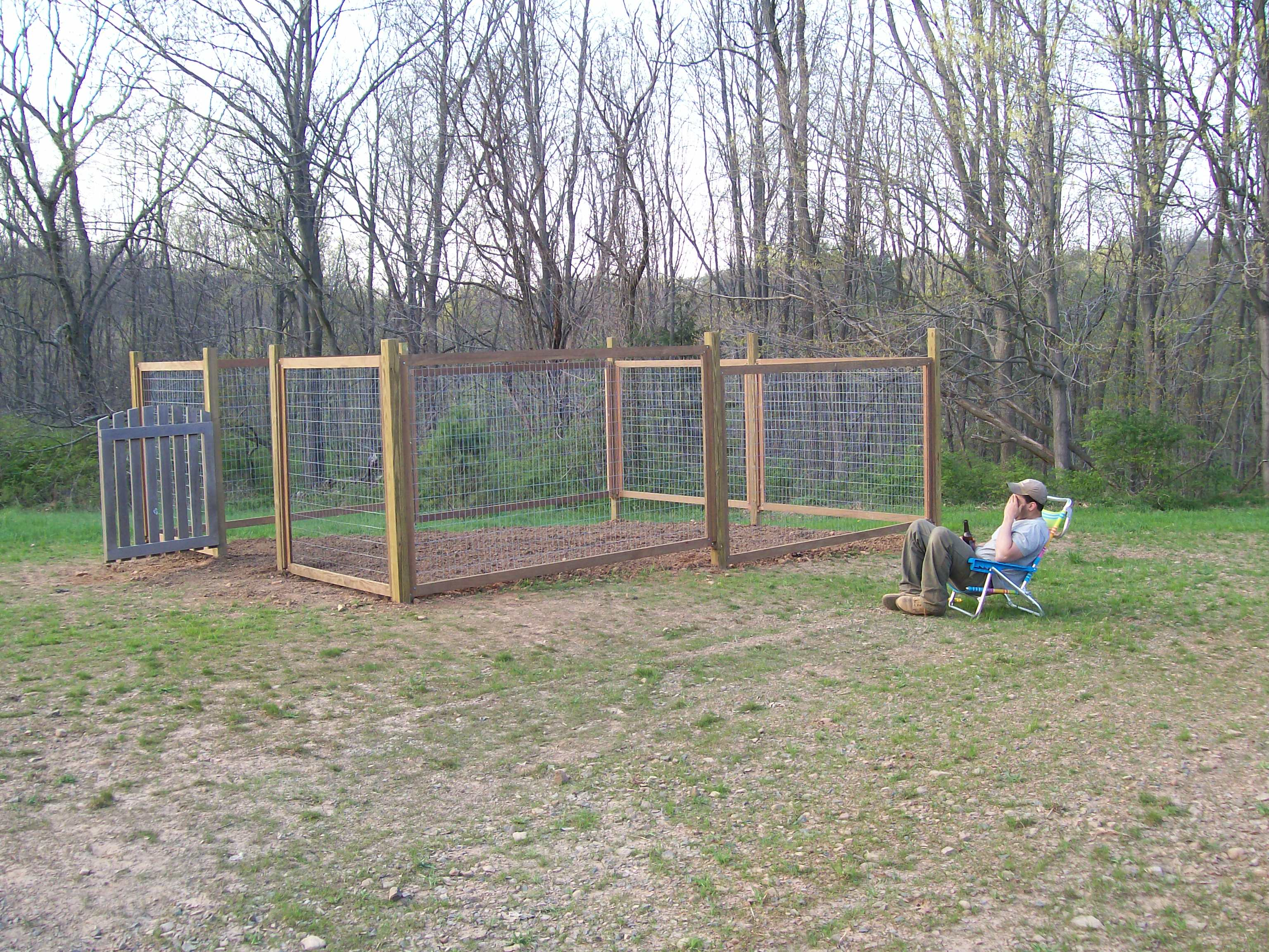 Fence for our Vegetable Garden Farmers Daughter